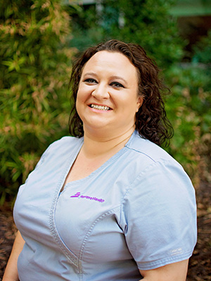 Mandie Fitzgerald, medical assistant at Heart of Dixie Vein & Vascular Center in Southern Utah